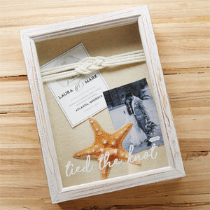 Mud Pie Tied the Knot Shadow Box