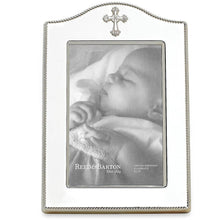 Load image into Gallery viewer, Reed & Barton Abbey Cross Silverplate 4x6 Frame