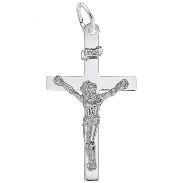 Sterling Silver Crucifix Charm