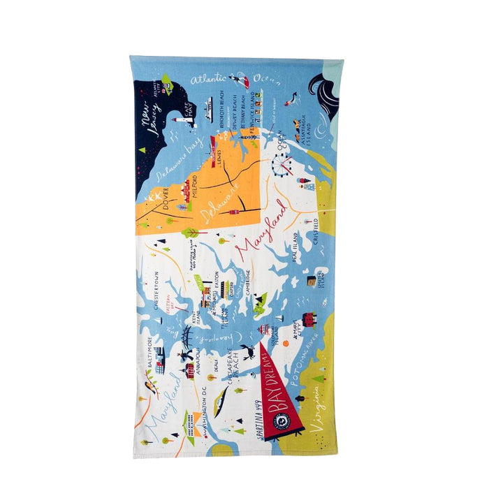 Spartina Bay Dreams Beach Towel