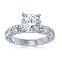 Load image into Gallery viewer, 14k Split Prong Engagement Ring