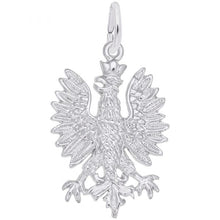 Load image into Gallery viewer, Sterling Silver Falcon Charm