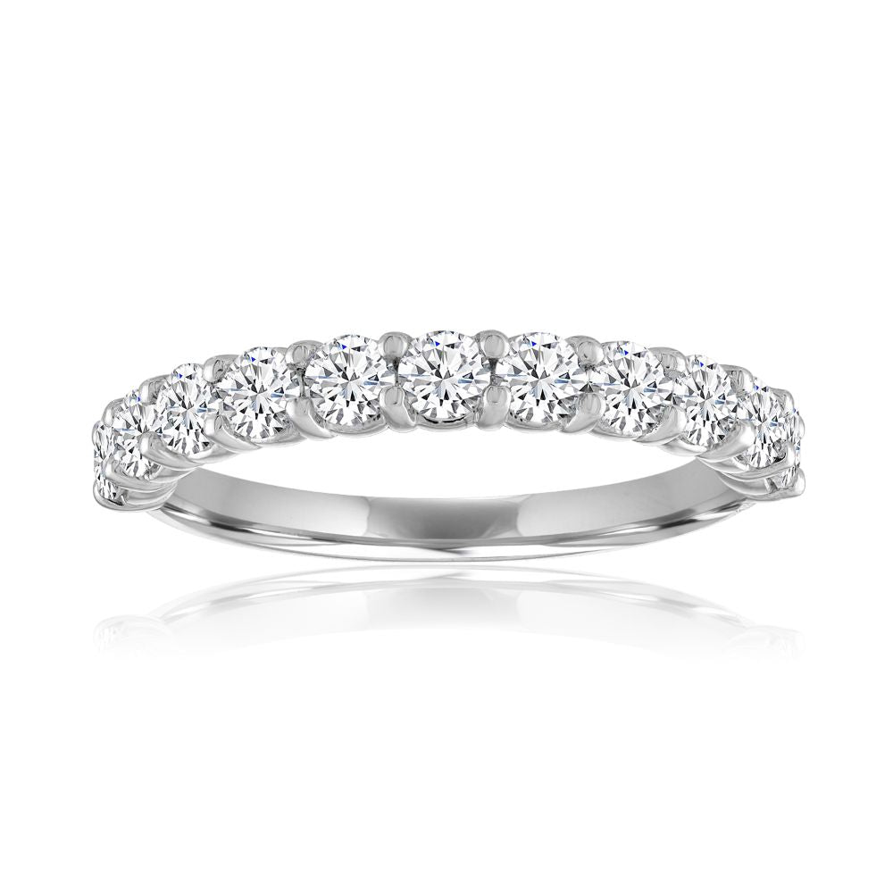 Smyth Shared Prong Diamond Wedding Band
