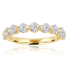 Load image into Gallery viewer, Shared Prong Diamond Wedding Band
