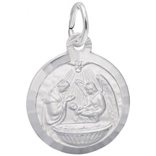 Load image into Gallery viewer, Sterling Silver Baptism Charm