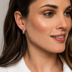 TI SENTO - Milano Two-tone Hoop Earrings 7786ZY