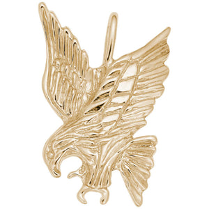 14K Yellow Gold  Eagle Charm