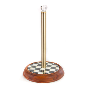 MacKenzie-Childs Courtly Check Paper Towel Holder