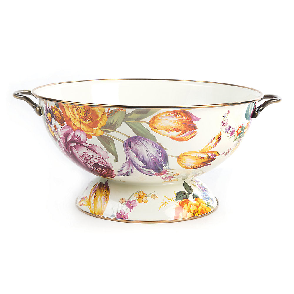 MacKenzie-Childs Flower Market Everything Bowl