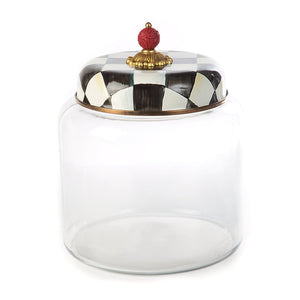 MacKenzie-Childs Storage Courtly Storage Canister