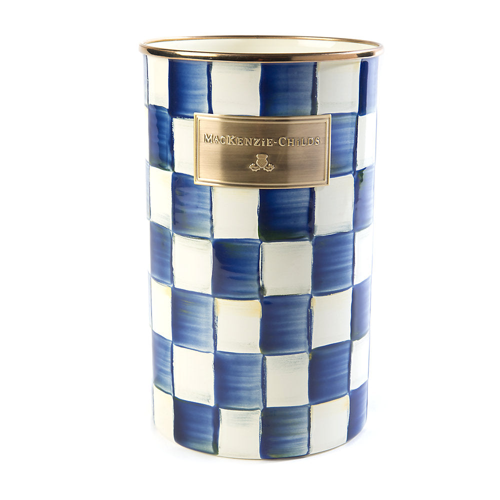 Mackenzie-Childs Royal Check Utensil Holder