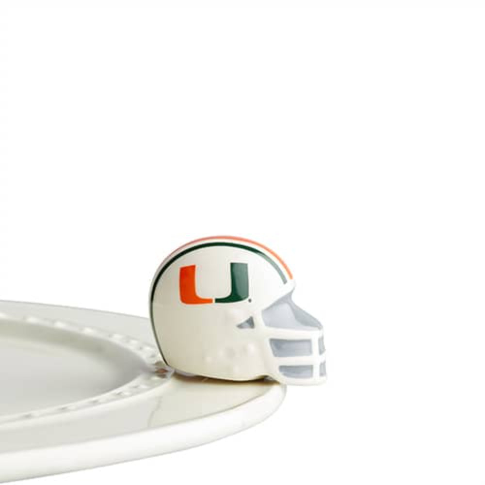 Nora Fleming U Miami Helmet