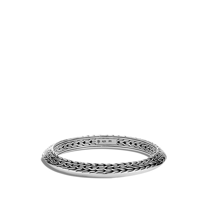 John Hardy Classic Chain Knife Edge Hinged Bangle