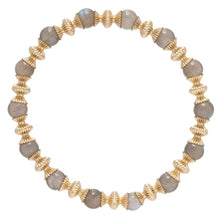 Load image into Gallery viewer, enewton Loyalty Gold 6mm Bead Bracelet - Gemstone