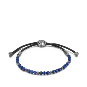 John Hardy Gents Classic Chain Pull Through Bead Bracelet