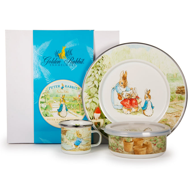 Golden Rabbit Peter Rabbit Child Set