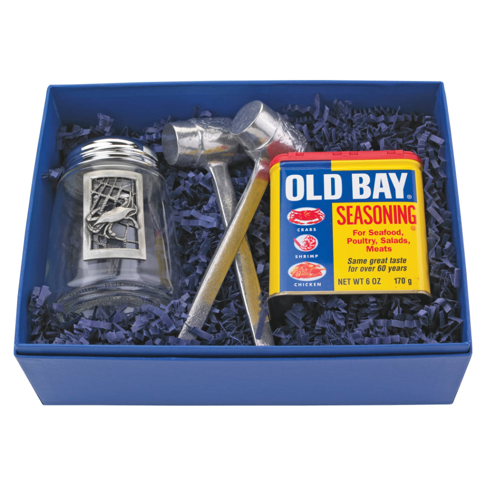 Salisbury Pewter Old Bay Four Piece Gift Set