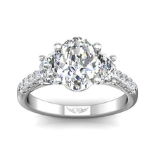 Load image into Gallery viewer, Martin Flyer FlyerFit Encore Three Stone Engagement Ring