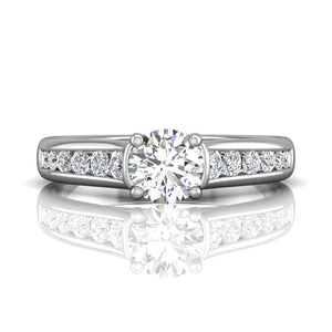 Martin Flyer FlyerFit Shared Prong Engagement Ring