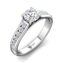 Load image into Gallery viewer, Martin Flyer FlyerFit Shared Prong Engagement Ring
