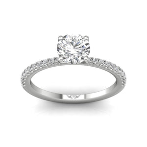 Martin Flyer FlyerFit Micropave Engagement Ring