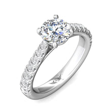 Load image into Gallery viewer, Martin Flyer FlyerFit Micropave Engagement Ring
