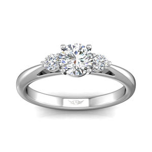 Martin Flyer FlyerFit Three Stone Engagement Ring