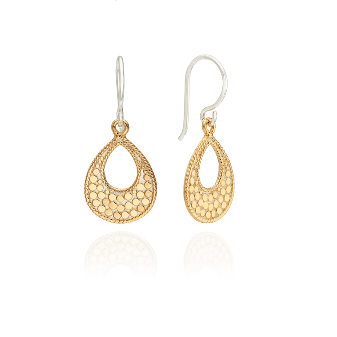 Anna Beck Classic Small Open Drop Earrings