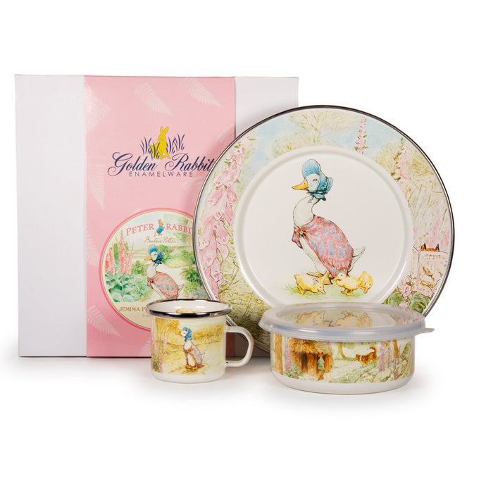 Golden Rabbit Jemima Puddle-duck Set
