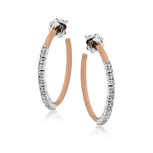 Simon G Hoops Earrings