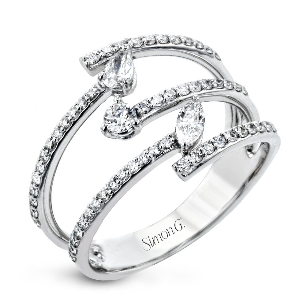 Simon G Fashion Diamond Right Hand Ring
