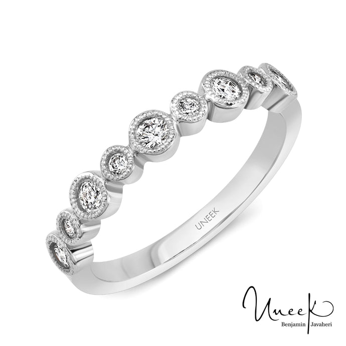 "Uneek ""Sierra Bonita"" Stackable Diamond Band"