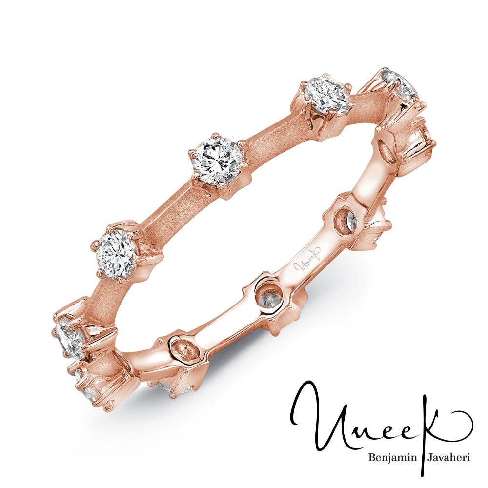 "Uneek ""Selma"" Stackable Diamond Band"