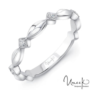 "Uneek ""Gower"" Stackable Diamond Band"