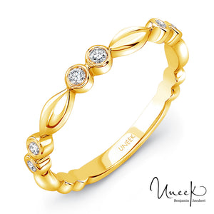 "Uneek ""Cahuenga"" Stackable Diamond Band"