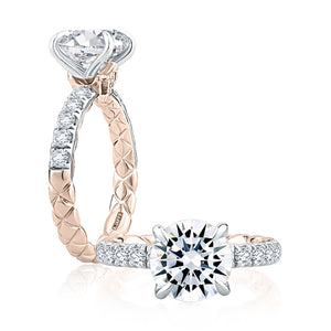 A. JAFFE Highborn Diamond Engagement Ring