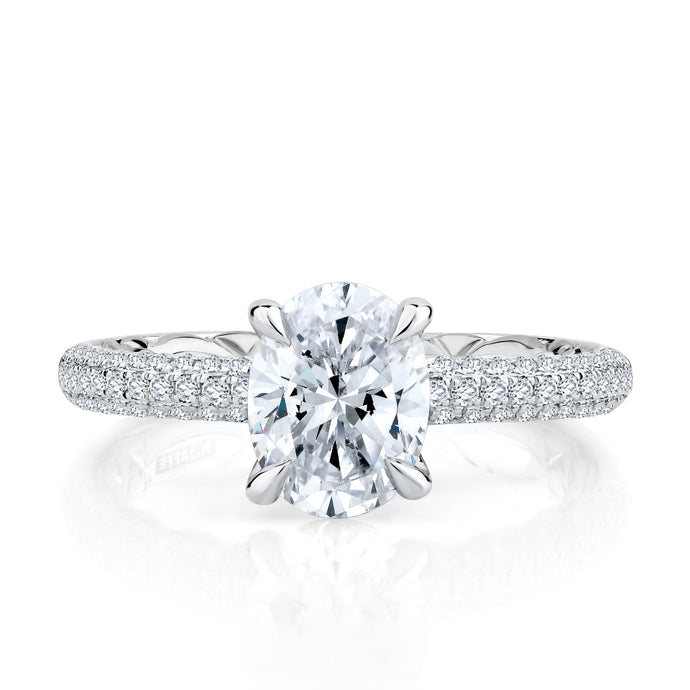 A. JAFFE Opulent Engagement Ring
