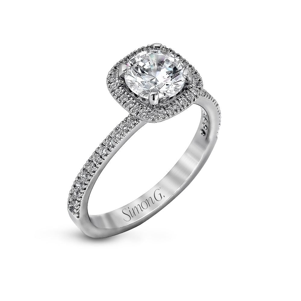 Simon G Semi Mounting Engagement Ring