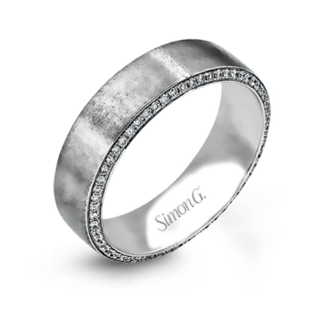 Simon G Gents Wedding Band