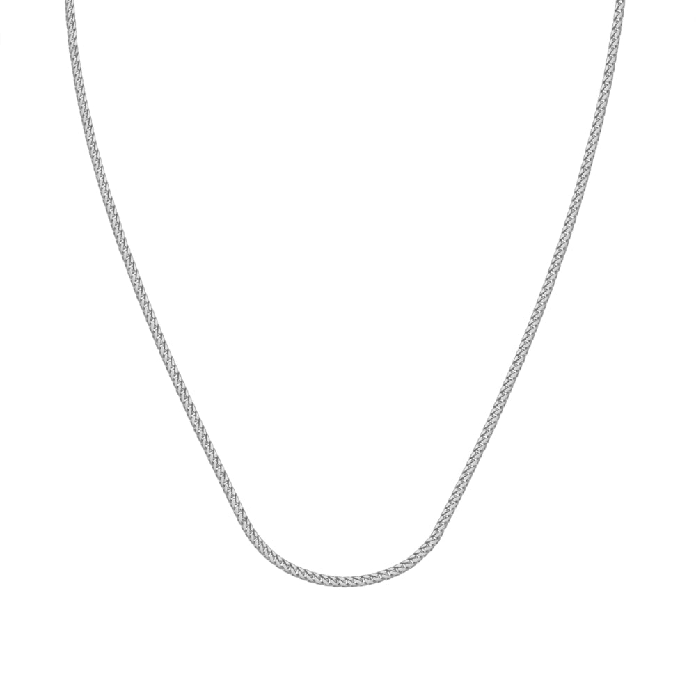 Sterling Silver 24 inch 1.2mm Franco Chain, 24 inches