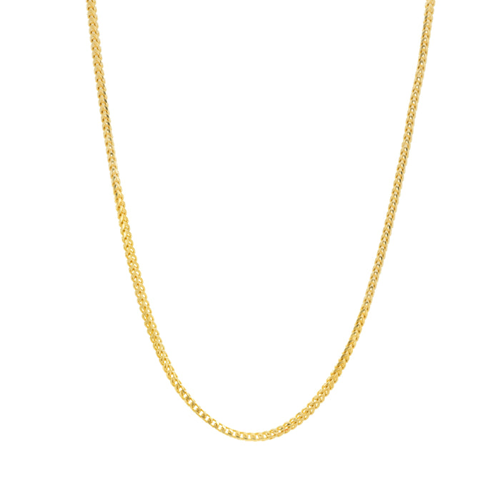 14k Franco 2.5 mm Chain