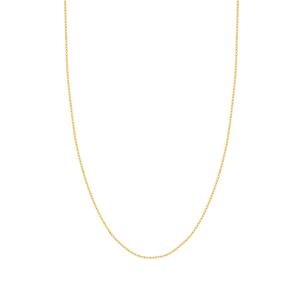 14kt Yellow Gold 1.82mm Rolo Chain 18 inches