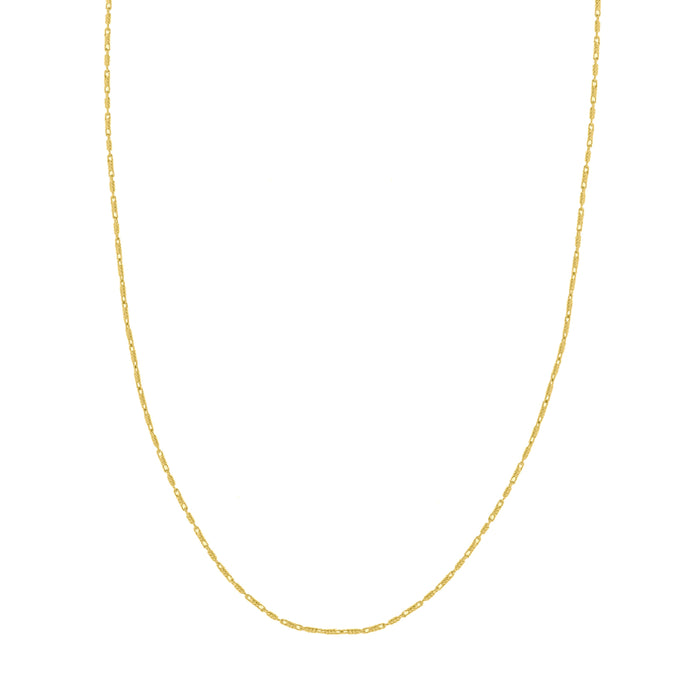 14k Lumacina 0.95 mm Chain