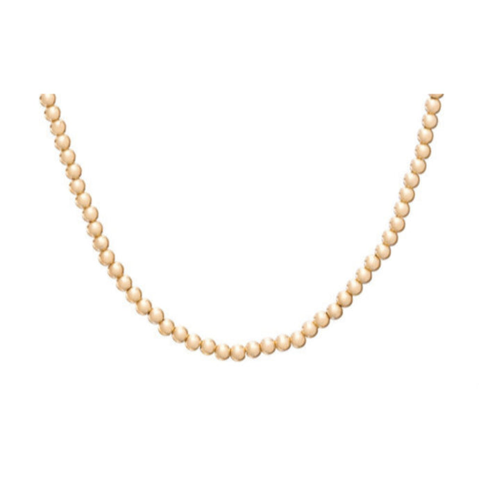 enewton Choker Classic Gold 3mm Bead