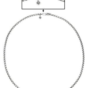 John Hardy 3.7mm Box Chain Necklace