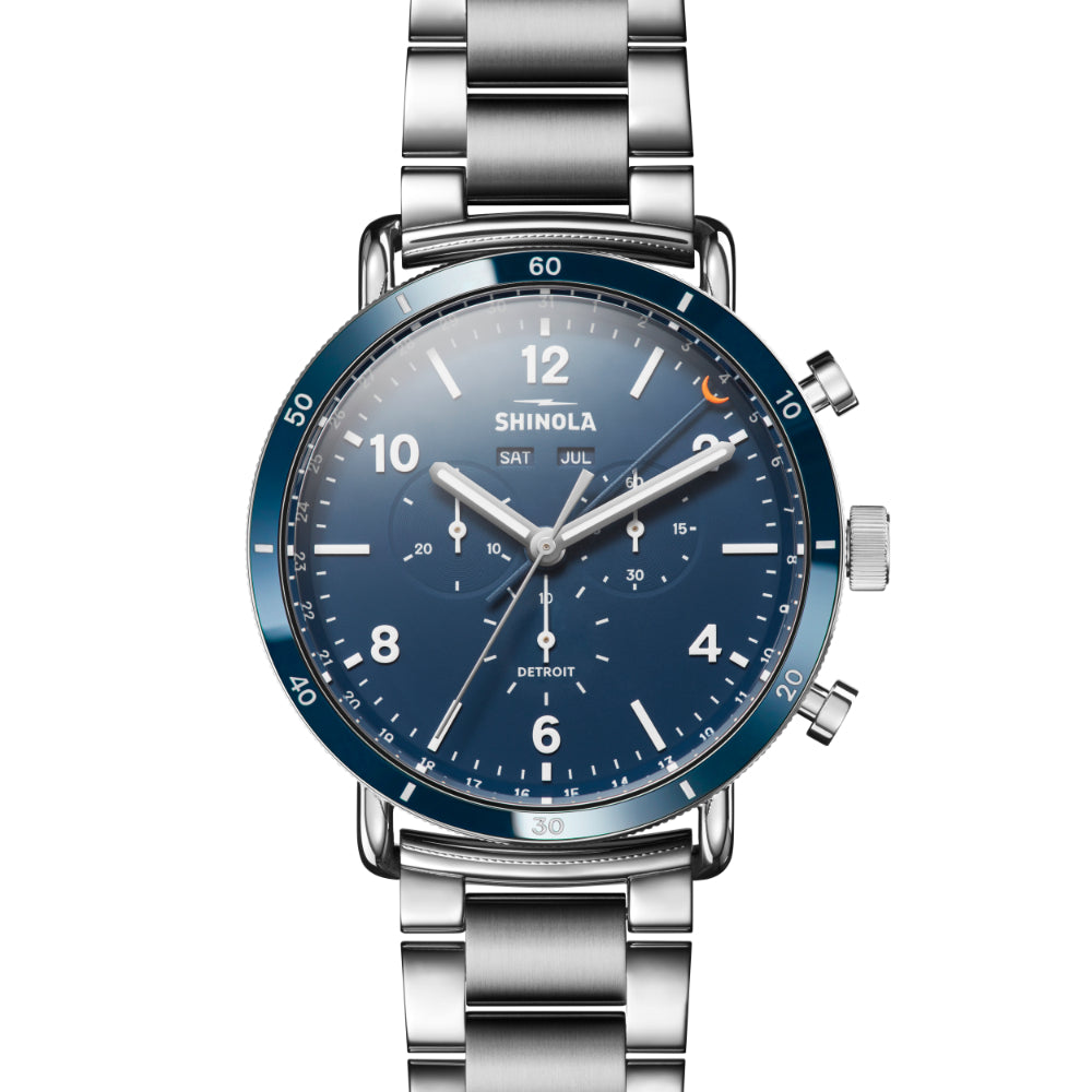 Shinola Gents Canfield Chronograph