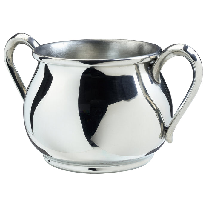 Salisbury Pewter Bulged Double Handle Baby Cup