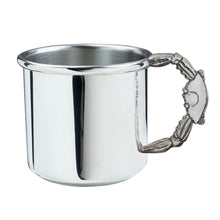 Load image into Gallery viewer, Salisbury Pewter Crab Handle Baby Cup