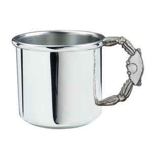 Salisbury Pewter Crab Handle Baby Cup