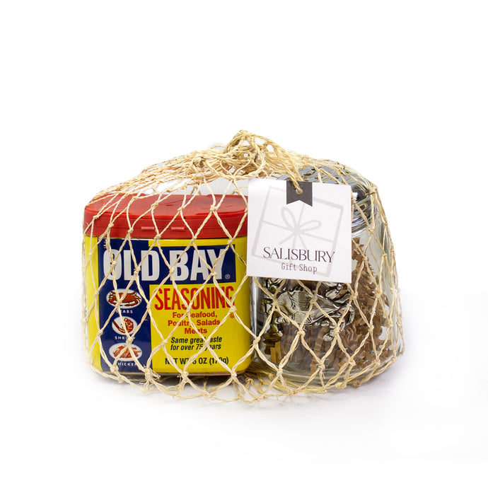 Salisbury Blue Crab Shaker & Old Bay Gift Set